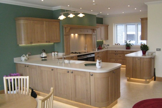 Corian Solid kitchen Worktop Solutions